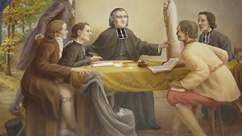 Marie et le Père Chaminade (1)