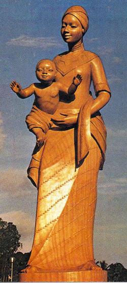 Vierge Marie Afrique