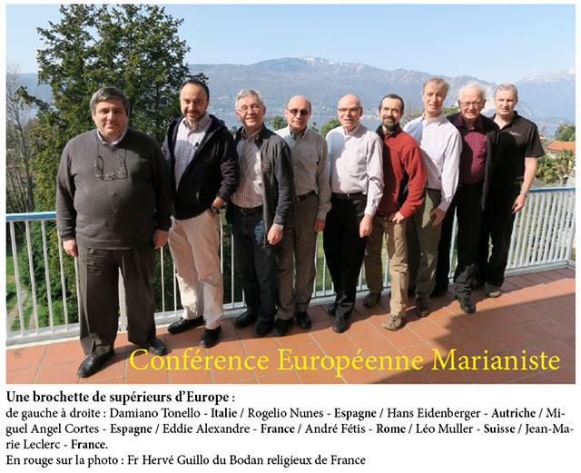 Conférence Européenne des Marianistes, objectif Cracovie 2016
