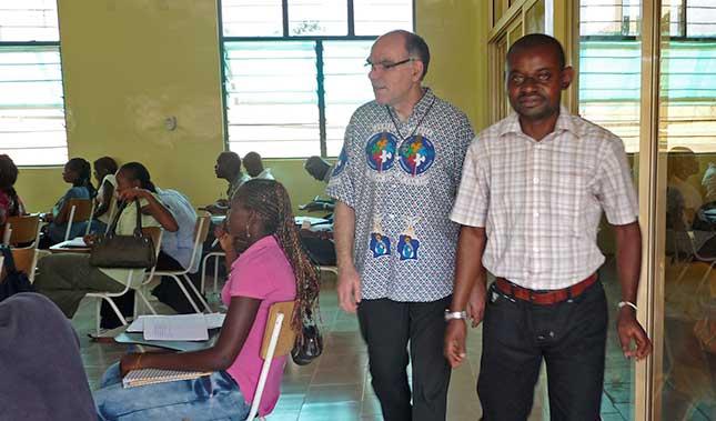 Frêre Jean Bosco Communauté de Mont NGAFULA