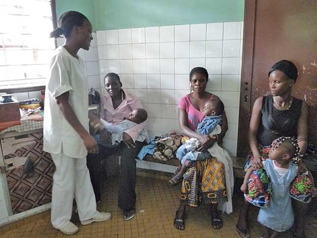 Centre de santé à Brazzaville