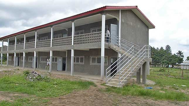 Le collège de Voka, œuvre marianiste au Congo