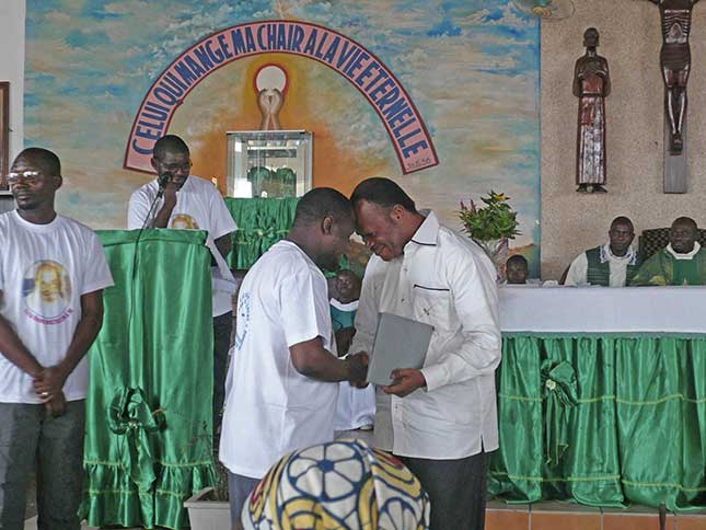 Église de la communauté marianiste de Voka au Congo