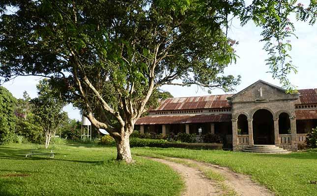 Église de la ferme de Voka au Congo