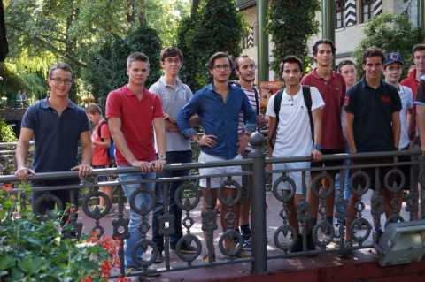 Les étudiants du foyer de Paris en week-end d'intégration