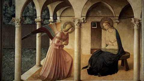 L'annonce de l'ange à Marie