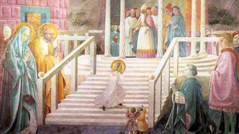 Prière pour la présentation de Marie au temple