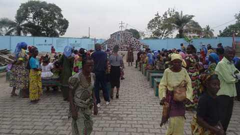 Journée de prière mondiale des marianistes à Moukondo (Congo)