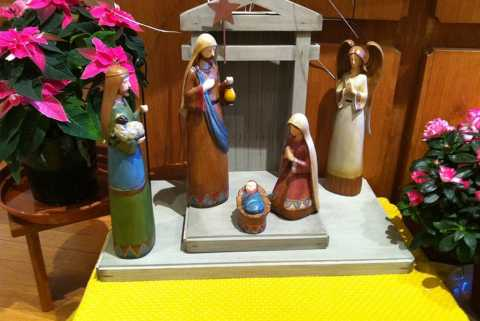 Prière d'un enfant pour Noël