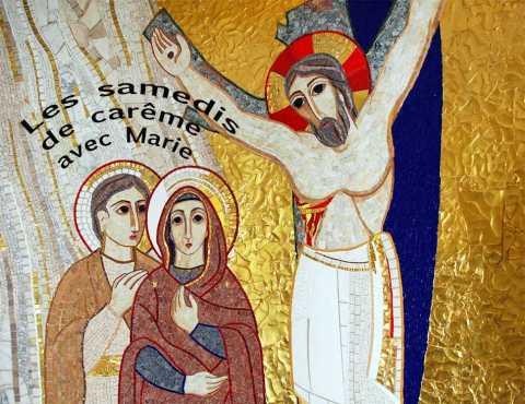 Marie a attendu dans la foi la résurrection de son fils.