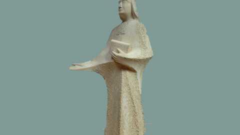 La statue du Père Chaminade