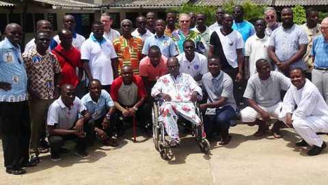 Visite du frère Dominique en Côte d'Ivoire