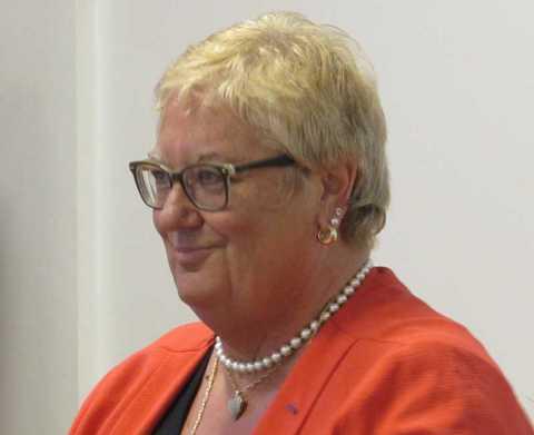 Départ de Mme Coupin à la retraite