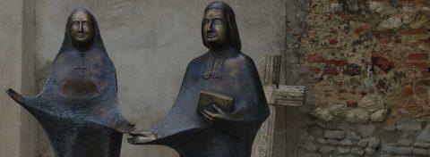 Bénédiction des statues des Fondateurs à Bordeaux