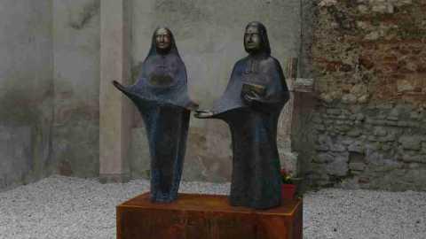 Bicentenaire des Fondations à Agen : la statue des Fondateurs