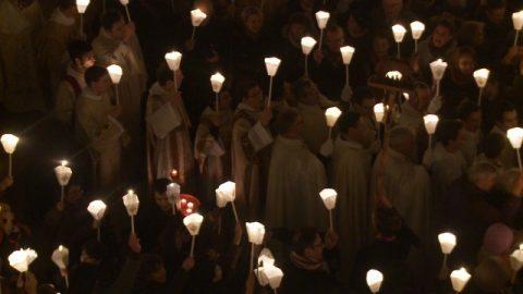Mystères de lumière. Premier mystère, le baptême de Jésus