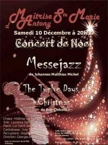 Concert de Noël à Antony