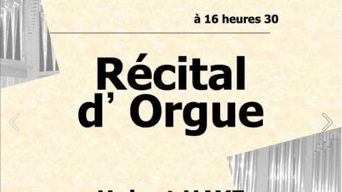 Concert d'orgue à Sainte Marie d'Antony