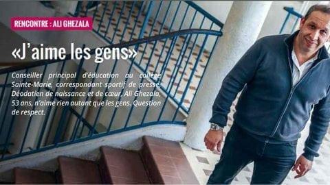 Coup de projecteur pour Ali Ghezala