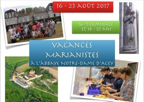 Séjour à Acey en août 2017