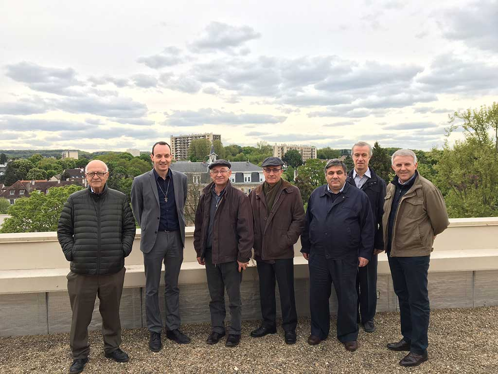 Les supérieurs marianistes d'Europe à Paris