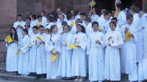 Profession de foi à Saint Dié