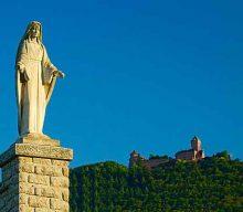 La Vierge des Vignes à Saint Hippolyte