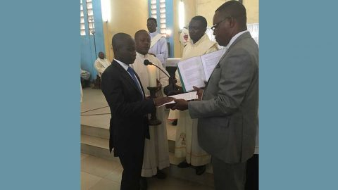 Voeux perpétuels à Kinshasa le 27 janvier 2018