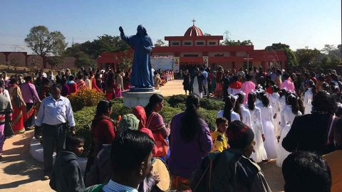 Clôture du Bicentenaire à Singhpur