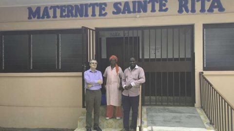 La maternité du centre Tata René