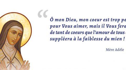 Béatification de Mère Adèle le 10 juin à Agen