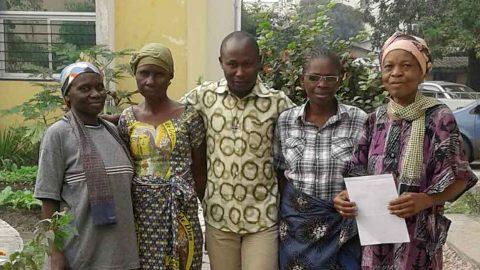 Avec les frères de Kinshasa