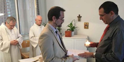 Jubilé des 25 ans du Fr Bertrand