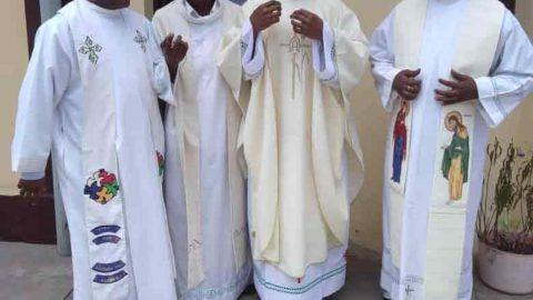 Première messe du frère Romuald