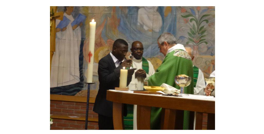 Par l'Eucharistie