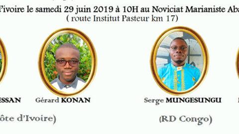 Premiers vœux à Abidjan