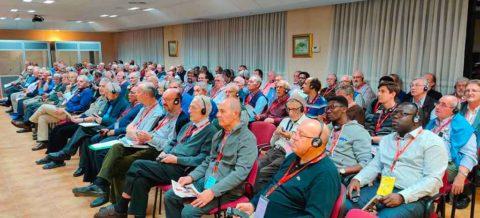 les religieux d'Europe rassemblés en Espagne