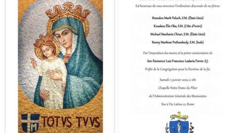 Ordination diaconale à Rome